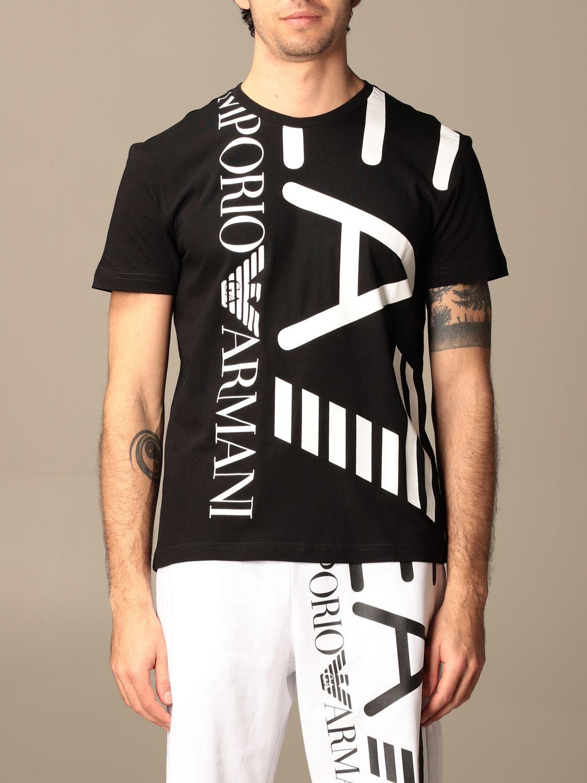 T-shirt Ea7: T-shirt homme Ea7 noir 1