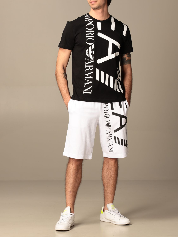 T-shirt Ea7: T-shirt homme Ea7 noir 2