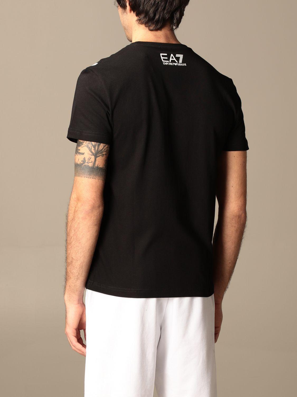 T-shirt Ea7: T-shirt homme Ea7 noir 3