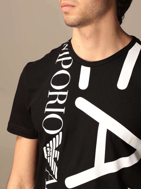T-shirt Ea7: T-shirt homme Ea7 noir 4