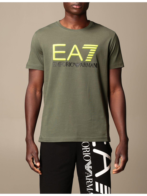 T-shirt Ea7: T-shirt men Ea7 military 1