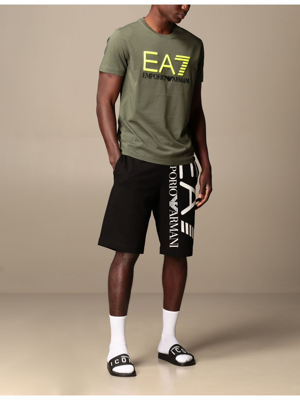T-shirt Ea7: T-shirt men Ea7 military 2