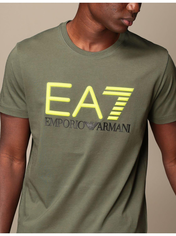 T-shirt Ea7: T-shirt men Ea7 military 4