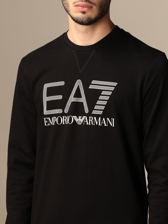 Sweatshirt Ea7: Sweatshirt homme Ea7 noir 3