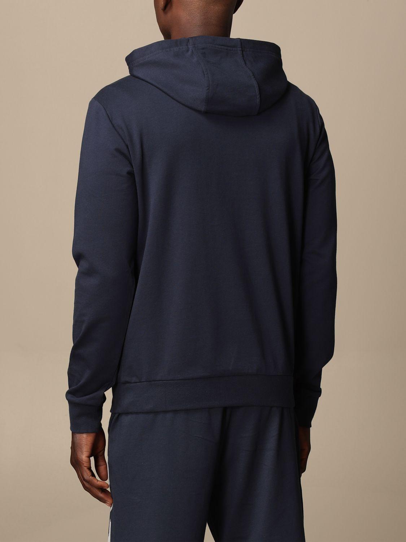Sweatshirt Ea7: Sweatshirt homme Ea7 bleu 2