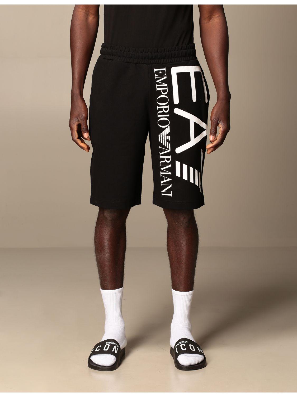 Short Ea7: Short men Ea7 black 1