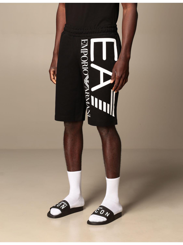 Short Ea7: Short men Ea7 black 4