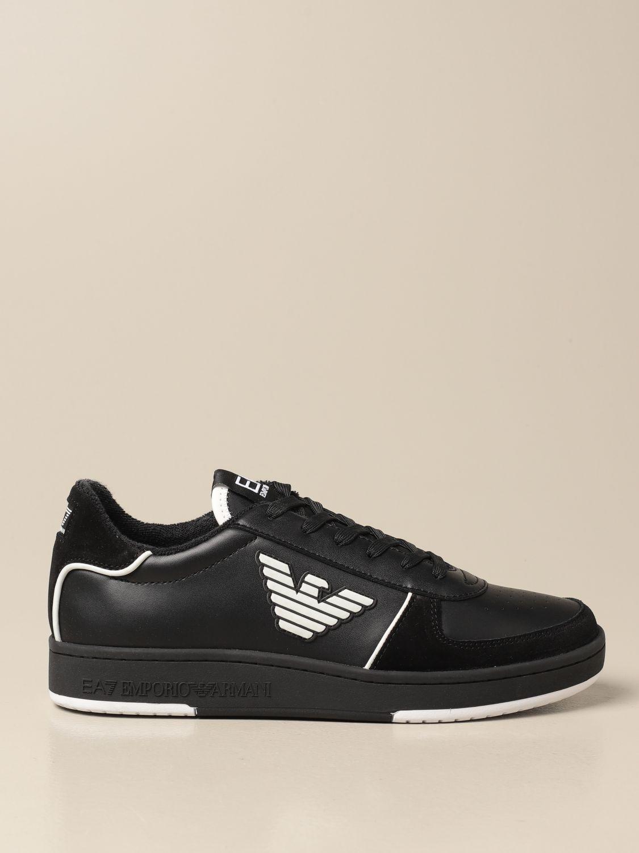 Baskets Ea7: Chaussures homme Ea7 noir 1