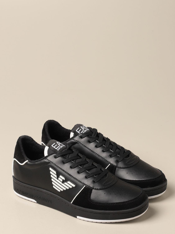 Baskets Ea7: Chaussures homme Ea7 noir 2