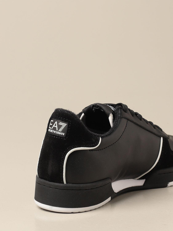 Baskets Ea7: Chaussures homme Ea7 noir 3