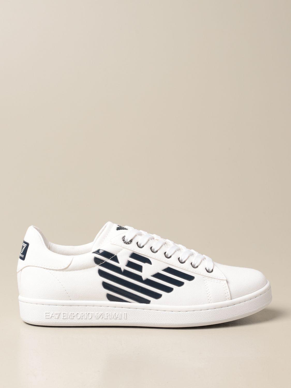 Trainers Ea7: Shoes men Ea7 white 1