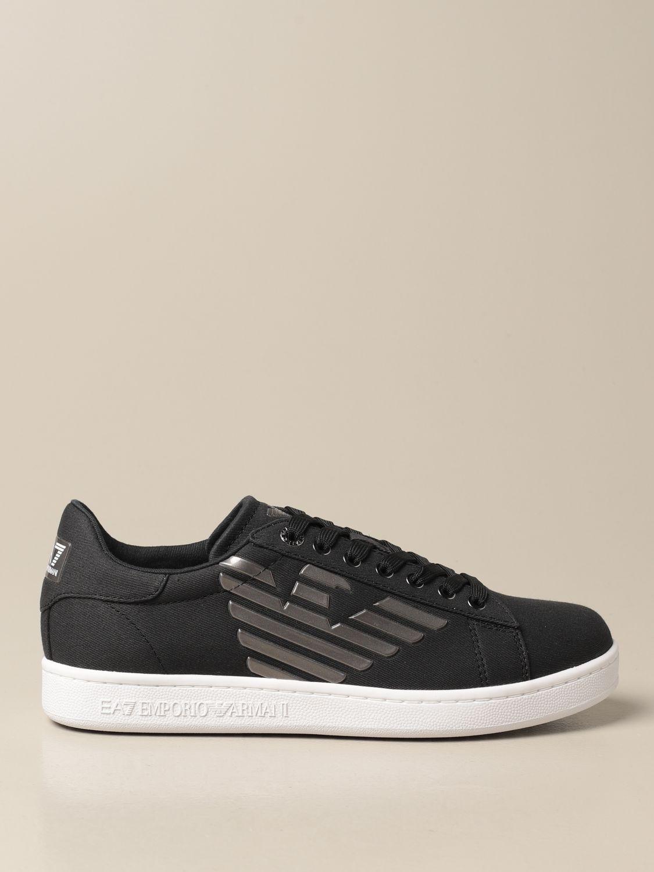 Sneakers Ea7: Sneakers EA7 in tessuto nero 1