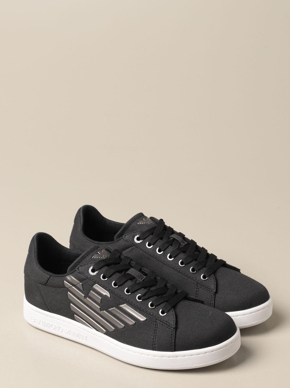 Sneakers Ea7: Sneakers EA7 in tessuto nero 2