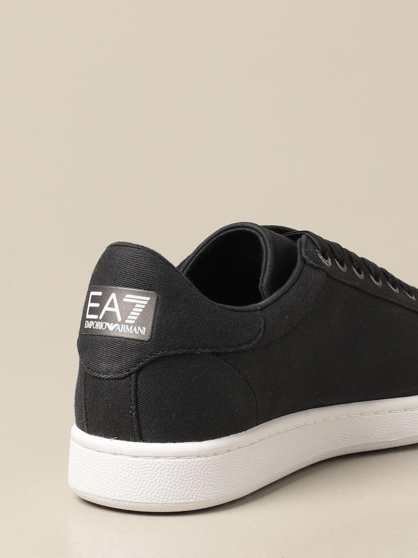 Sneakers Ea7: Sneakers EA7 in tessuto nero 3