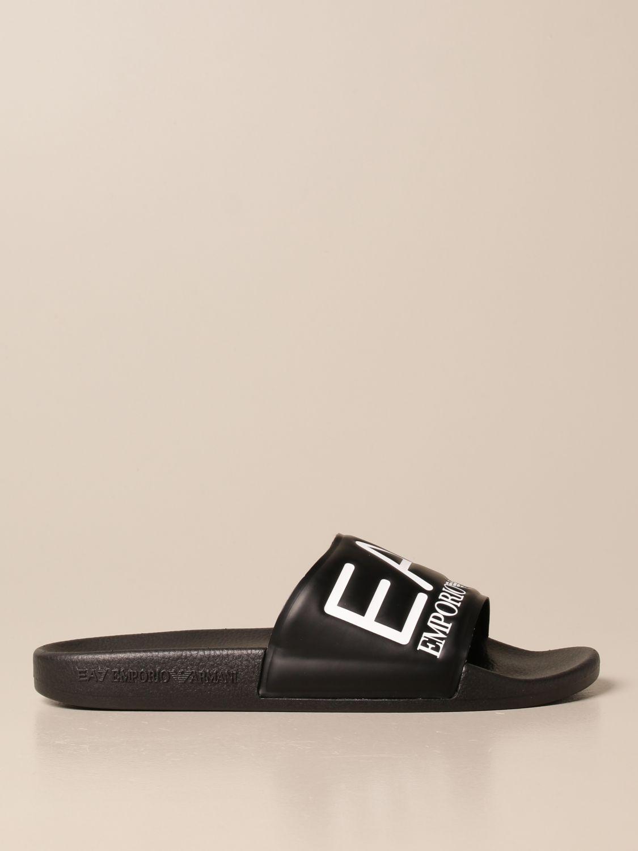 Sandalen Ea7: Schuhe herren Ea7 schwarz 1
