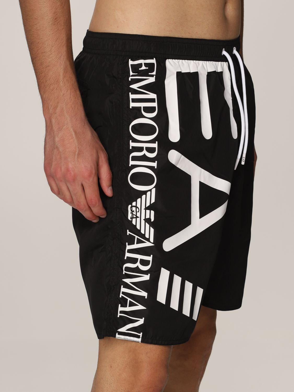Costume Ea7: Costume a boxer EA7 con big logo nero 1 3