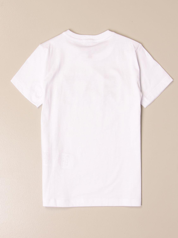 T-shirt Ea7: EA7 cotton T-shirt with logo print white 2
