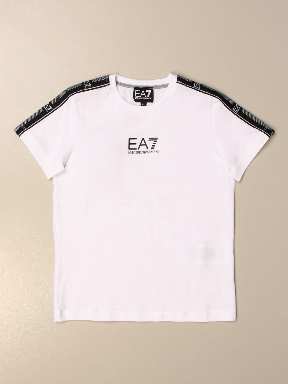 Camiseta Ea7: Camiseta niños Ea7 blanco 1