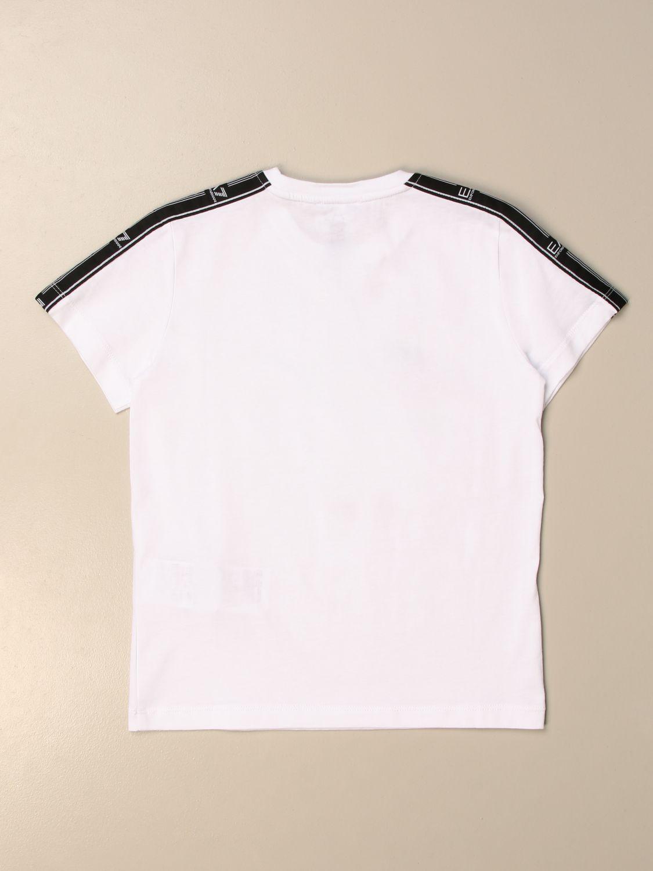 Camiseta Ea7: Camiseta niños Ea7 blanco 2