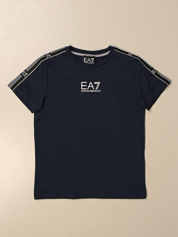 Camiseta Ea7: Camiseta niños Ea7 azul oscuro 1