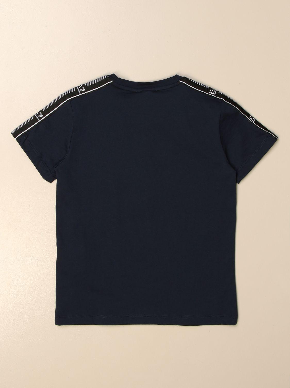 Camiseta Ea7: Camiseta niños Ea7 azul oscuro 2