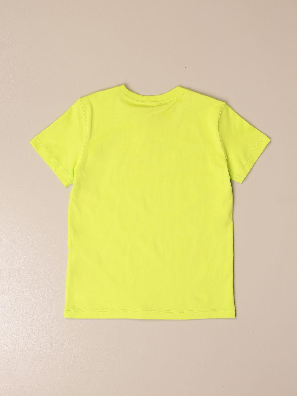 T-shirt Ea7: EA7 cotton T-shirt with logo print acid green 2