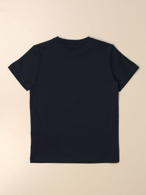 T-shirt Ea7: EA7 cotton T-shirt with logo print blue 2