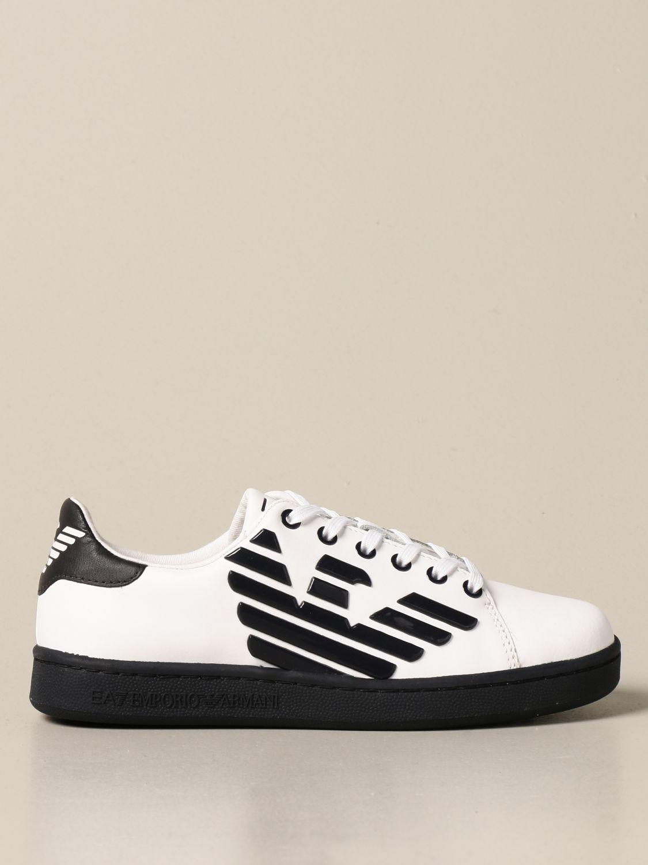 Zapatos Ea7: Zapatos niños Ea7 blanco 1