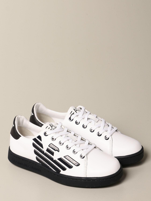 Zapatos Ea7: Zapatos niños Ea7 blanco 2