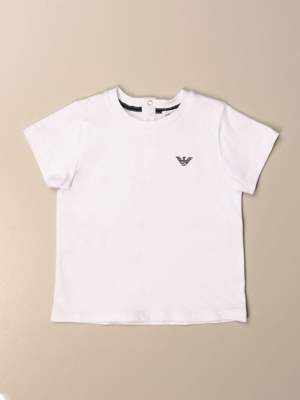 Camiseta Emporio Armani: Camiseta niños Emporio Armani blanco 1