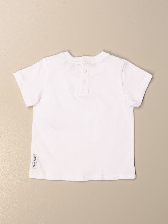 Camiseta Emporio Armani: Camiseta niños Emporio Armani blanco 2