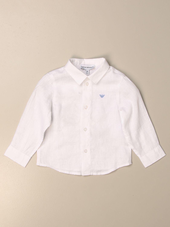 Chemise Emporio Armani: Chemise enfant Emporio Armani blanc 1