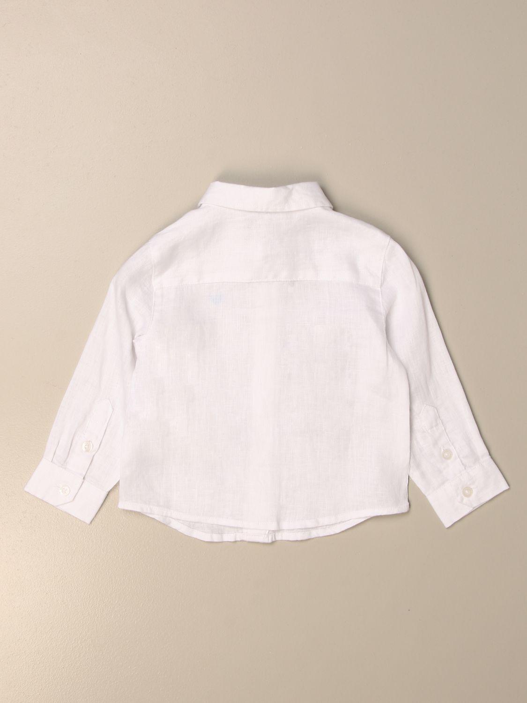 Chemise Emporio Armani: Chemise enfant Emporio Armani blanc 2