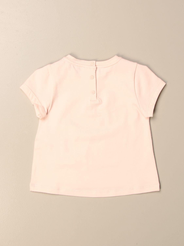 Camisetas Emporio Armani: Camisetas niños Emporio Armani rosa 2