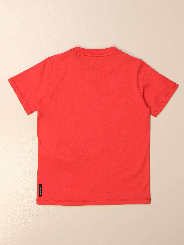 Camiseta Emporio Armani: Camiseta niños Emporio Armani rojo 2