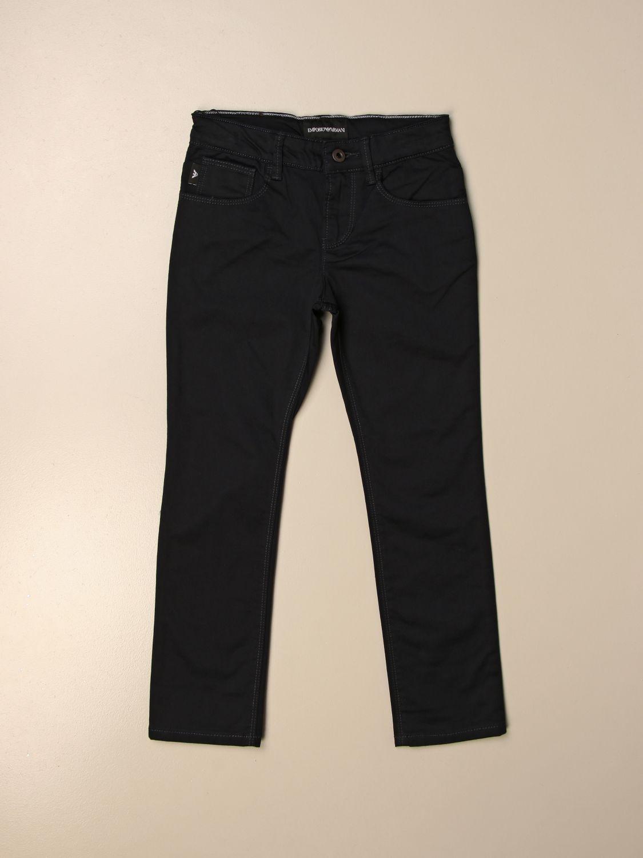 Pantalón Emporio Armani: Pantalón niños Emporio Armani azul oscuro 1