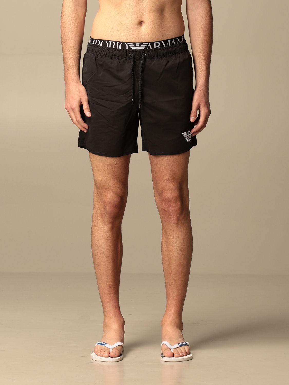 Bañador Emporio Armani Swimwear: Bañador hombre Emporio Armani Swimwear negro 1