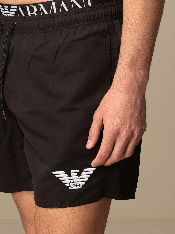 Bañador Emporio Armani Swimwear: Bañador hombre Emporio Armani Swimwear negro 3