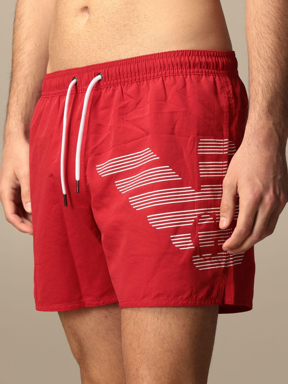 Bañador Emporio Armani Swimwear: Bañador hombre Emporio Armani Swimwear rojo 3