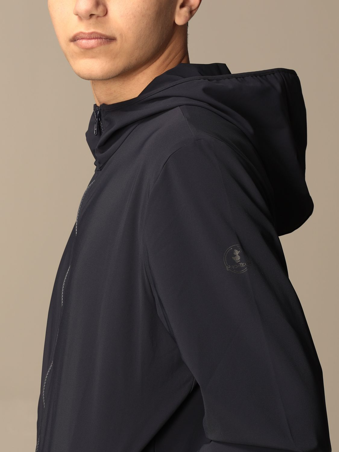 Giacca Pro-Tech By Save The Duck: Giacca con cappuccio Pro-Tech by Save The Duck blue navy 4