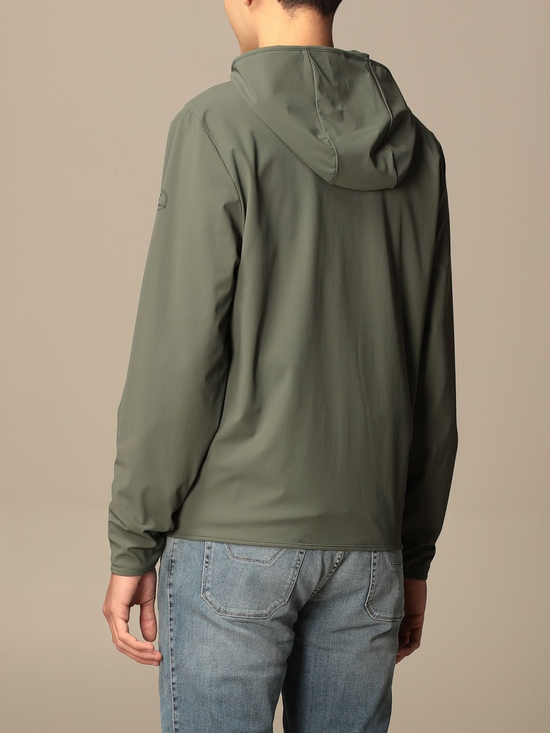 Giacca Pro-Tech By Save The Duck: Giacca con cappuccio Pro-Tech by Save The Duck militare 2