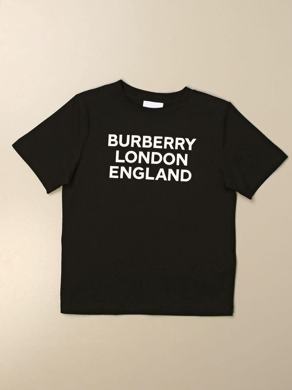 Camiseta Burberry: Camiseta niños Burberry negro 1