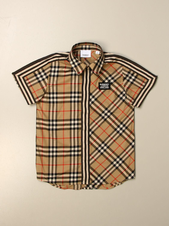 Camisa Burberry: Camisa niños Burberry beige 1
