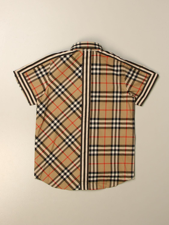 Camisa Burberry: Camisa niños Burberry beige 2