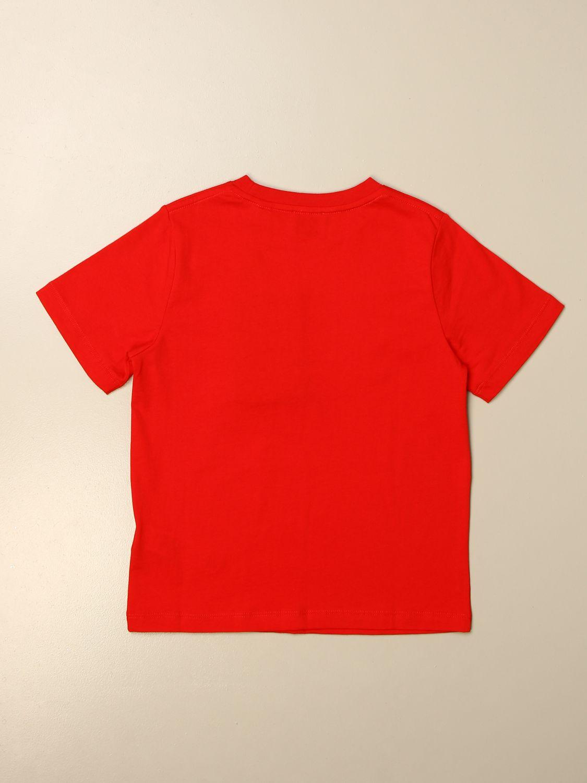 T恤 Burberry: Burberry Logo 棉质T恤 红色 2
