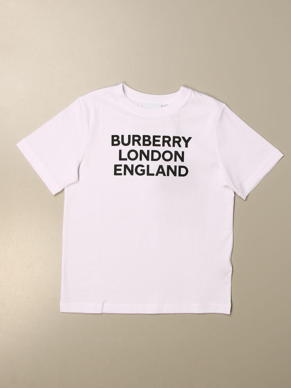 T恤 Burberry: Burberry Logo 棉质T恤 白色 1
