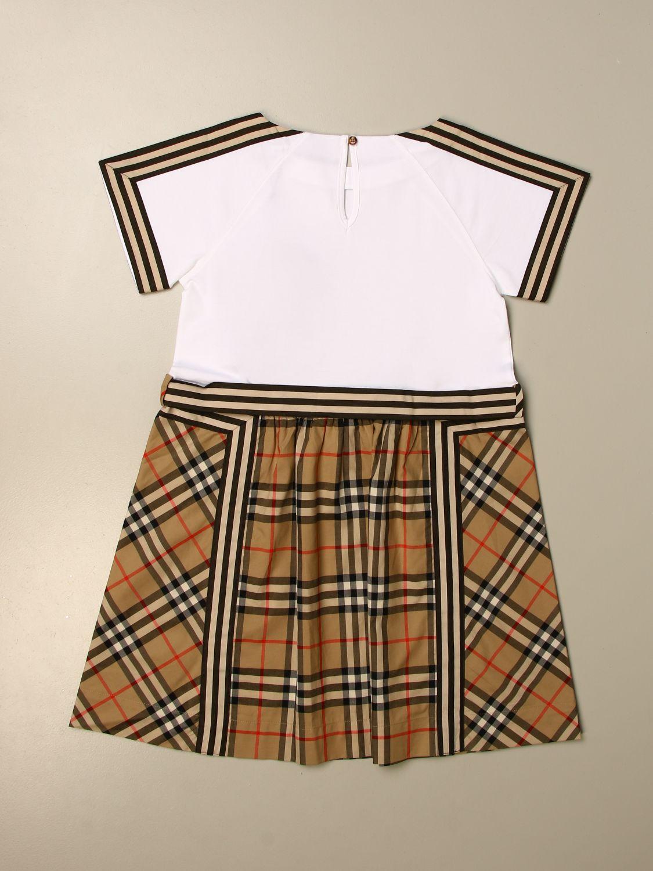 Vestido Burberry: Vestido niños Burberry beige 2