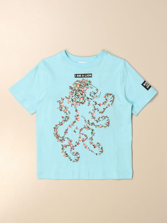 Camiseta Burberry: Camiseta niños Burberry azul claro 1