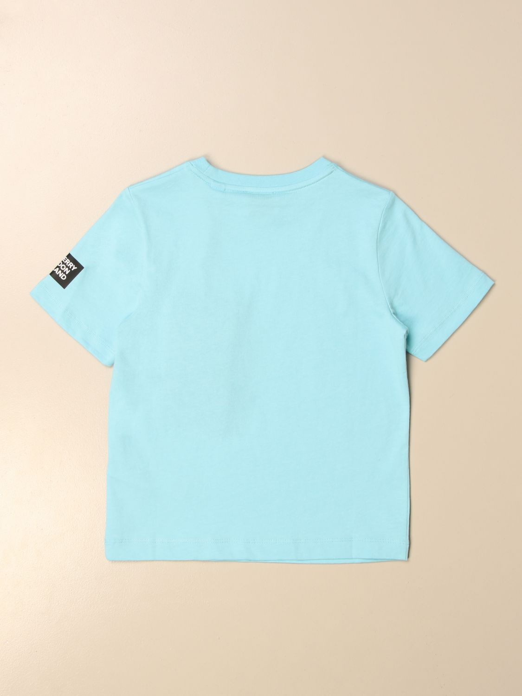 Camiseta Burberry: Camiseta niños Burberry azul claro 2