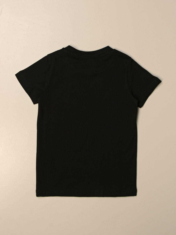Camiseta Balmain: Camiseta niños Balmain negro 2